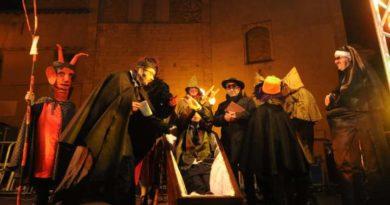 Funerale Carnevale Montorio al Vomano