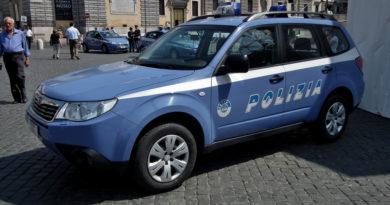 Polizia di Stato Subaru
