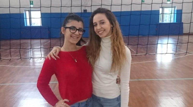 Alessia Fusella e Giada D'Arcangelo Studentesse Manthone Pescara