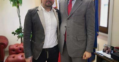 Sindaco Teramo D'Alberto con Marsilio Presidente Regione Abruzzo
