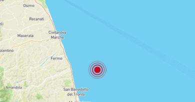 Terremoto Costa Marchigiana Picena