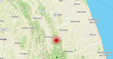Scossa Terremoto 14 aprile 2019 Valfornace