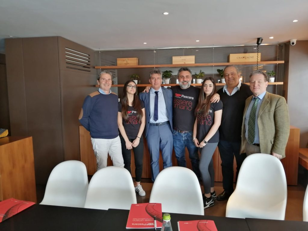 conferenza stampa tedx pescara 2019