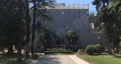 Villa Comunale Roseto Lavori - Giugno 2019