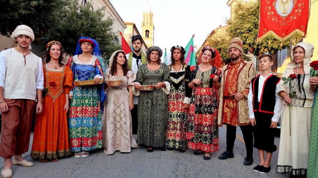 Mons Pagus Rievocazione Montepagano Roseto 2018 - 1