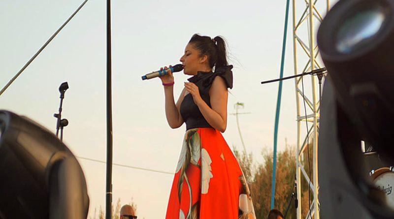 Nancy Fazzini sul palco