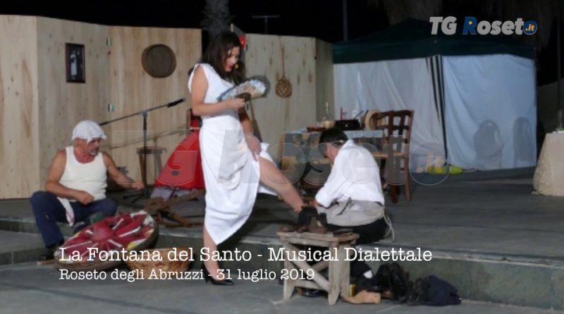 Musical Dialettale La Fontana del Santo 2019