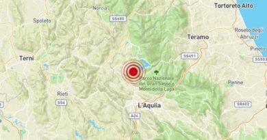 Terremoto Capitignano AQ 12 ottobre 2019