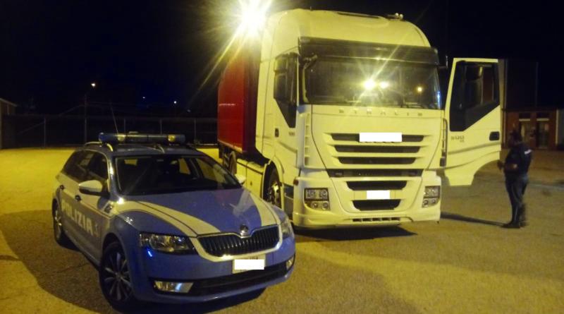 polizia camion