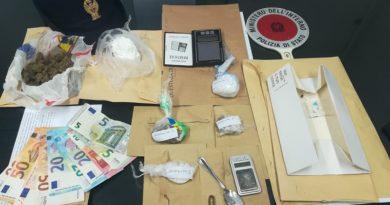 Arresto Pescara 41enne droga