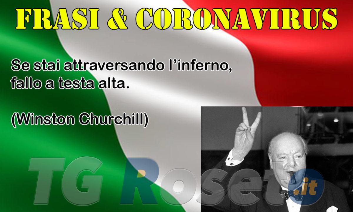 Frasi E Coronavirus Churchill Tg Roseto