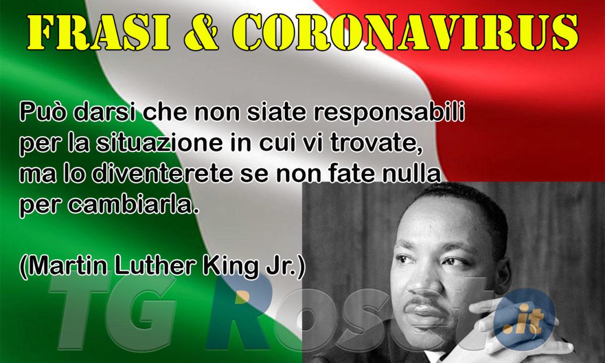 Frasi E Coronavirus Martin Luther King Tg Roseto
