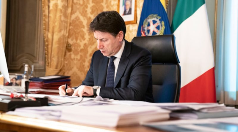 Giuseppe Conte Firma
